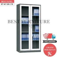 Best Lemari Arsip Besi 2 Pintu LA-2006 uk 85x40x180