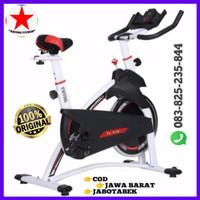 Alat/Olahraga/Sepeda/Fitness/SPINNING BIKE HITAM/PUTIH TL-930
