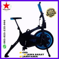 Alat/Olahraga/Fitness/PLATINUM BIKE WARNA BIRU TL-8207 - Merah