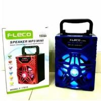 Speaker Fleco F-1701A MP3 Mini LED Buzz Bluetooth USB Memori Radio