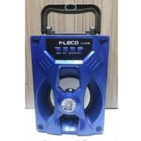 Speaker Fleco F-1701B MP3 Mini LED Buzz Bluetooth USB Memori Radio