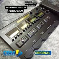 MULTI EFEK GITAR ZOOM G5N EFFECT GUITAR ORI