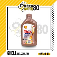 OLI SHELL HELIX ULTRA SN PLUS SAE 0W-20 FULLY SYTHETIC ISI 1 LITER