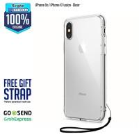 Rearth Ringke iPhone Xs / X Fusion Anti Crack Anti Drop Ori - Clear
