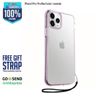 Rearth Ringke iPhone 11 Pro Fusion Anti Crack Anti Drop Ori - Lavender