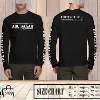 Kaos Abu Bakar Pedang / Kaos Pria Muslim / Kaos Premium Murah
