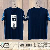 Kaos Ustman Bin Affan / Kaos Premium / Kaos Hijrah