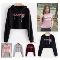 baju sweater hoodie blackpink Korea jepang black pink anak anak remaja
