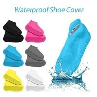 Cover Sepatu Karet Silicone Anti Air Sarung Pelindung Sepatu Silikon