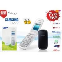 Hp Samsung Lipat Caramel GT-1272 Hitam-Putih-Merah