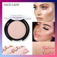 Sace lady highlighter powder palette natural shimmer