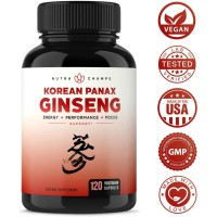 NutraChamps Korean Red Panax Ginseng 1000mg