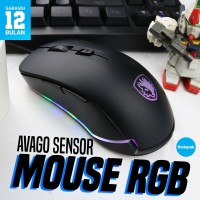Mouse Gaming Sades Mouse Lance Garansi Resmi / Mouse / Mouse Gaming