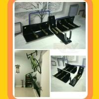 Gantungan Sepeda Dinding Pedal Hanger Bike