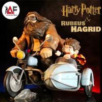 Action figure Harry Potter Rubeus Hagrid motorcyle motorbike adventure