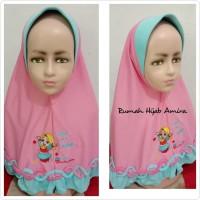 Jilbab Anak Kaos Super Harian Rantai Bawah Hijab