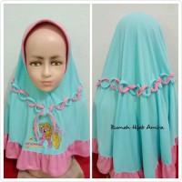 Jilbab Anak Kaos Super Harian Rantai Tengah Kuda Poni
