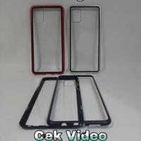 CASE MAGNETIC VIVO V19 COVER FULL GLASS ANTI BARET