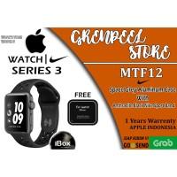 Apple Watch Series 3 IBOX Nike+ 38mm Black Grey Sport Band MTF12-ID/A