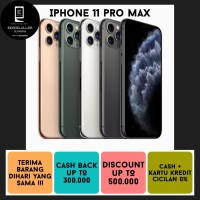 IPHONE 11 PRO MAX 256GB NEW ALL COLOUR NEW