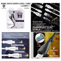 Kabel Data LENYES LC-901 Type C 2.4A Champion Cup