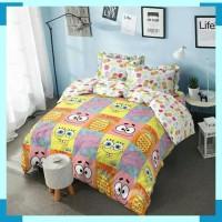 Bedcover Set King Kintakun Deluxe Spongebob 180x200 cm