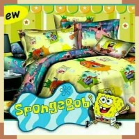 Bedcover Single Fata Spongebob 120x200 cm