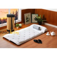 Quantum Guest Bed Travel Rebonded Latex Busa Gulung Lipat Tebal 90x190