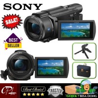 Camera Aksesories Sony FDR-AX53 4K Ultra HD Handycam Camcorder Terbar