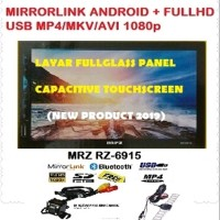 HEAD UNIT TV MOBIL DOUBLE DIN MRZ MIRRORLINK ANDROID DAN FULL HD