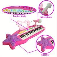 Mainan Musikal Anak Elektronik Keyboard 37 Keys Piano - Mtk007A B