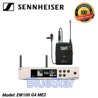 Mic Wireless Sennheiser EW100 G4 ME2 Clip on Original