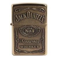Zippo 254BDJ Jack Daniels Gold Lighter Made in USA /GENUINE and ORIGIN