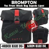 Tas Brompton CHPT3 Front Block Bag Sepeda Lipat Tas Depan Sepeda