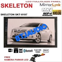 HEAD UNIT TAPE DOUBLE DIN SKELETON MIRRORLINK ANDROID - FULL HD U