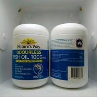 Natures Way Odourless Fish Oil 1000mg