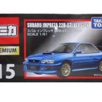 Takara Tomy Tomica Premium 15 Subaru Impreza 22B-STi Diecast Toy Car J