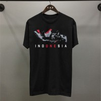 T-shirt Kepulauan Indonesia / Baju Kaos Distro Pria Wanita Indonesia