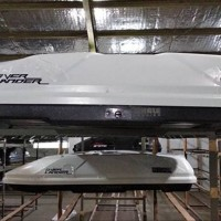Roof Box Bagasi tambahan roobox Whale Carrier type Overlander 650