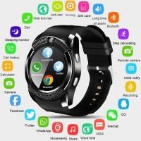 Terbaru V8 Smart Watch&SIM Phone&Bluetooth Camera&GPS For Samsung