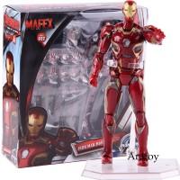 Mafex No. 022 Action Figure Marvel Avengers Iron Man Marvel 45 Ironman