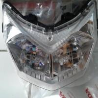 HEAD LAMP / REFLEKTOR SUPRA X 125 FI ORIGINAL AHM fly Mcf