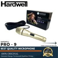 MIC KABEL HARDWELL PRO9 MICROPHONE KARAOKE CABLE HARDWEL PRO 9 MI