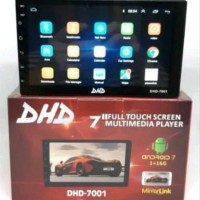 HEAD UNIT ANDROID DOUBLE DIN PLUS KAMERA MUNDUR