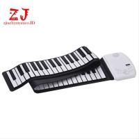 New Keyboard Elektronik Digital Piano Silikon 61 Kunci zji A16