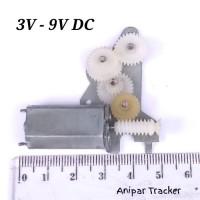 Motor DC 3V - 5V - 9V Dinamo Mini Gear
