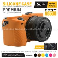 Silikon Sony Alpha A6500 Silicone Case Sarung Silicon Kamera A 6500 - BROWN