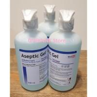 Aseptic Gel OneMed 500ml Pembersih Tangan Hand Sanitizer Alkohol