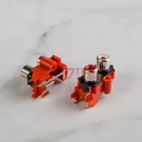 Soket / Socket RCA 2 Pin Bell Tancap PCB - Input dari Jack RCA