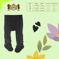 Petite Mimi - Baby Legging Polos Pita BLACK